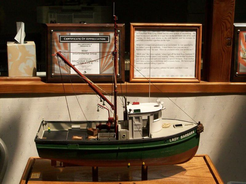 Lobster Boat Model