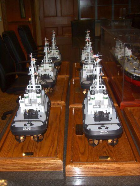 Vane Tug Boat Model