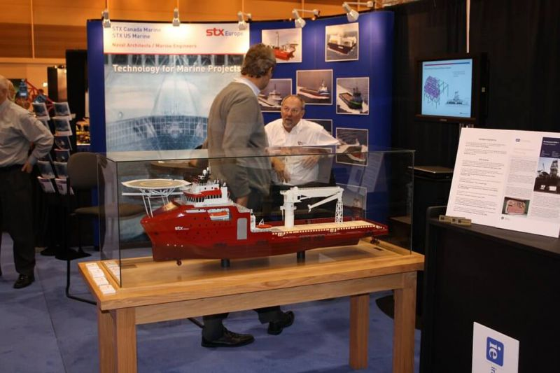 STX Marine Supply Vessel Model