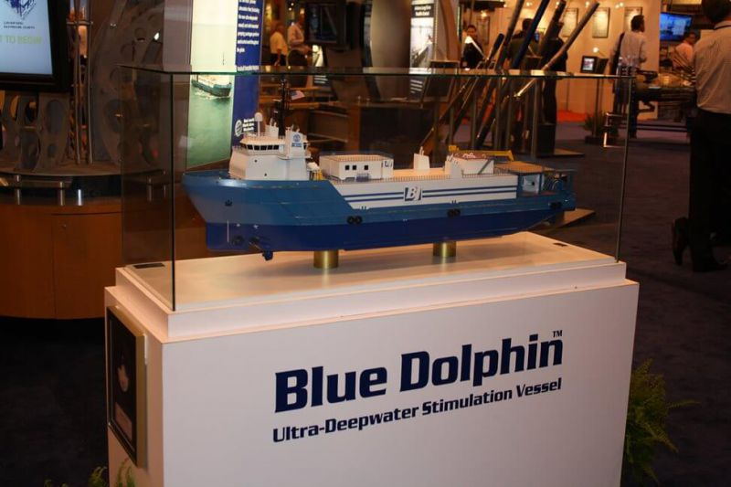 Blue Dolphin Model