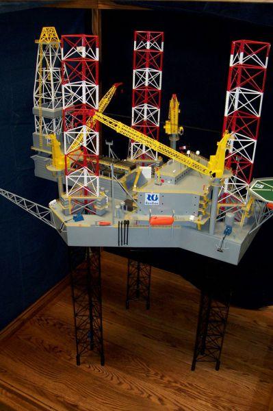 RasGas Oil Platform