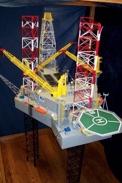 Oil Platform Model
