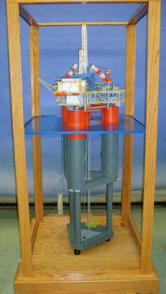 Gulf Island Mindoc Semi Submersible Model