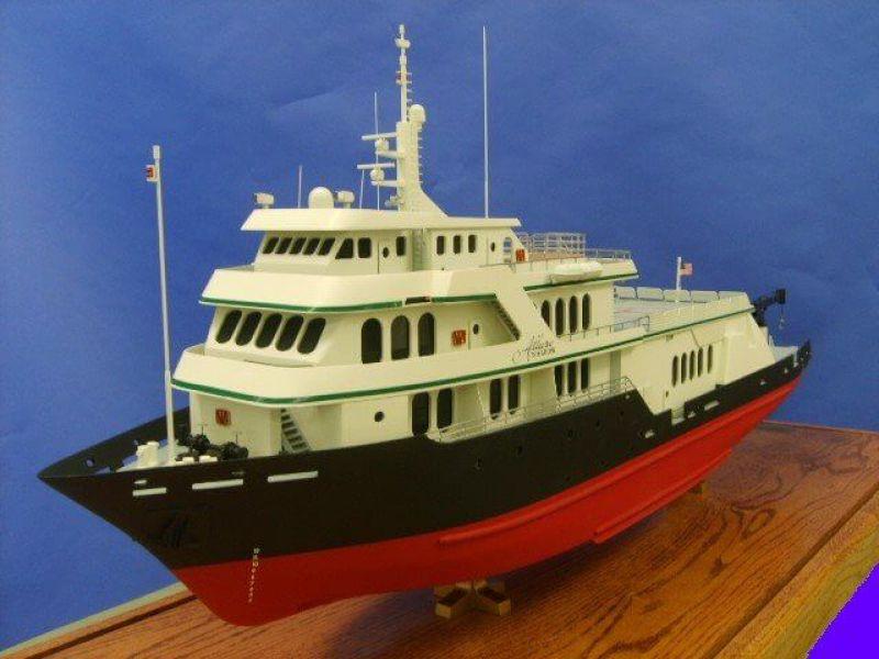 Sport Fisher yacht model