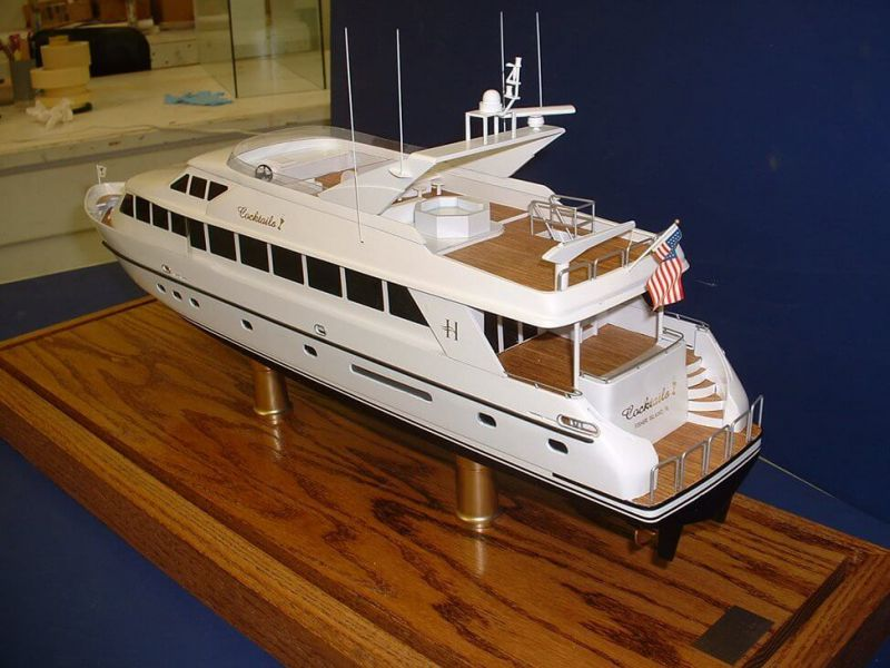 Sport Fisher yacht model