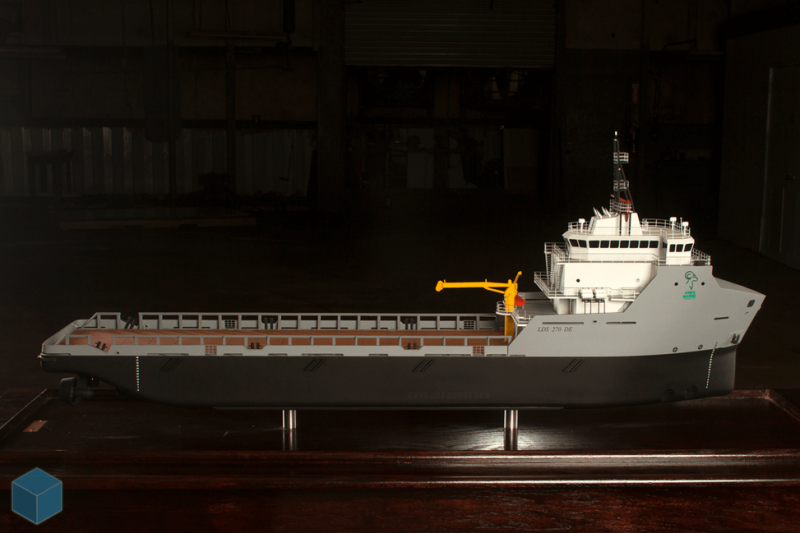 Leevac workboat model