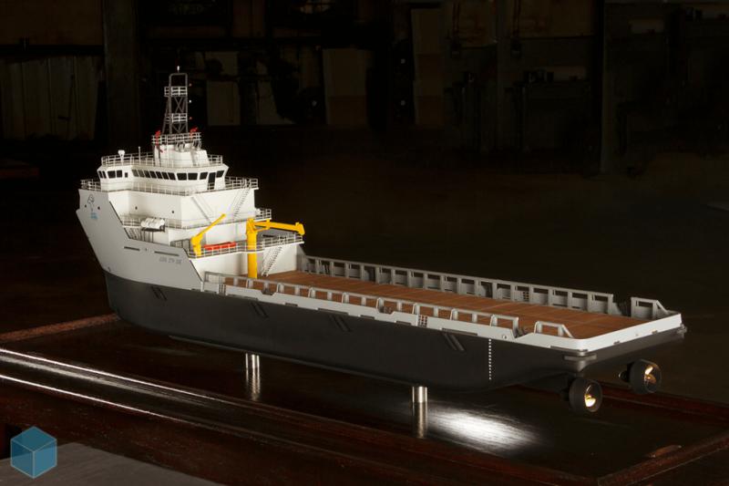 Leevac workboat model
