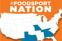 Alabama Coasting Magazine WFC-ALABAMA COASTING PARTNERSHIP World Food Championship Food Sport Network Logo