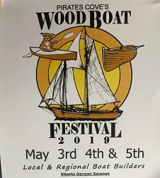 AL Coasting Alabama Featured Events Pirate's Cove Wooden Boat