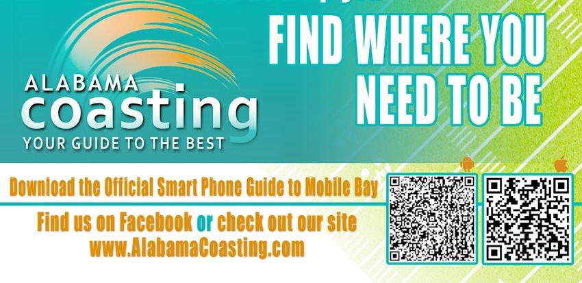 Alabama Coasting Recommends for GODADDY BOWL SUNDAY