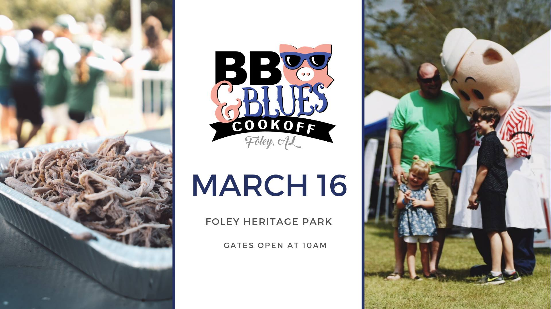 graphic banner with festival logo and image of bbq in pan