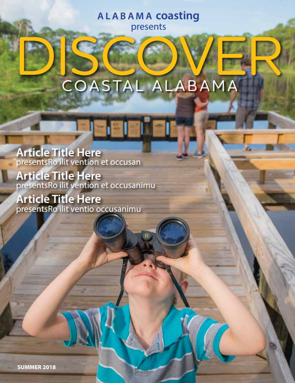 October Update: Introducing Discover Coastal Alabama Magazine
