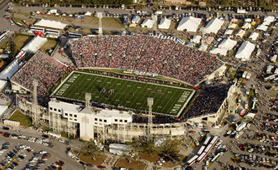 Senior Bowl & GoDaddy Bowl College Football Game