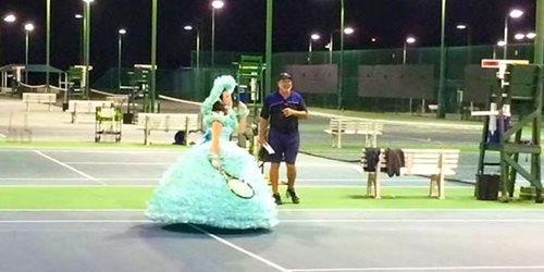 GCTT - Mobile Tennis Family Festival fun with Azalea Trail Maid