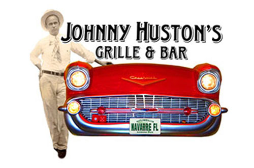 Johnny Huston's Grille & Bar logo