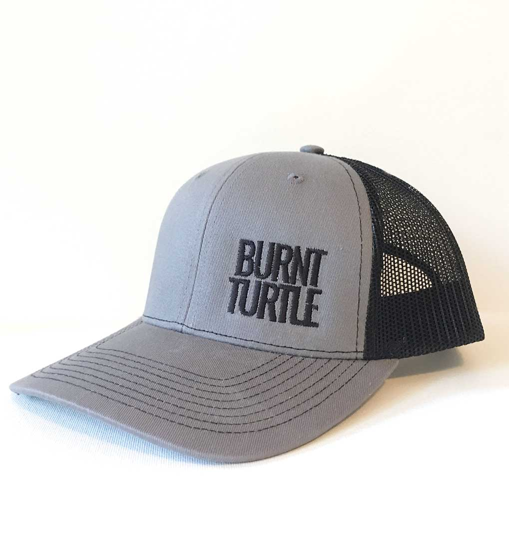Burnt Turtle Trucker Hat