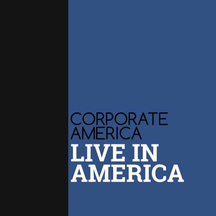 Corporate America Live in America album cover