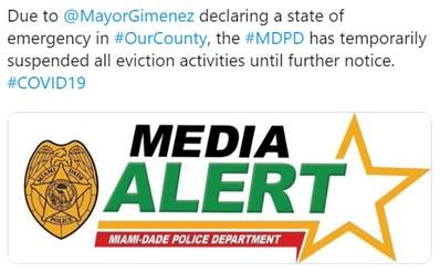 Miami-Dade Tweet