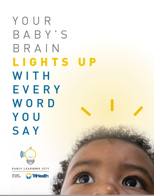 TriHealth baby book cover