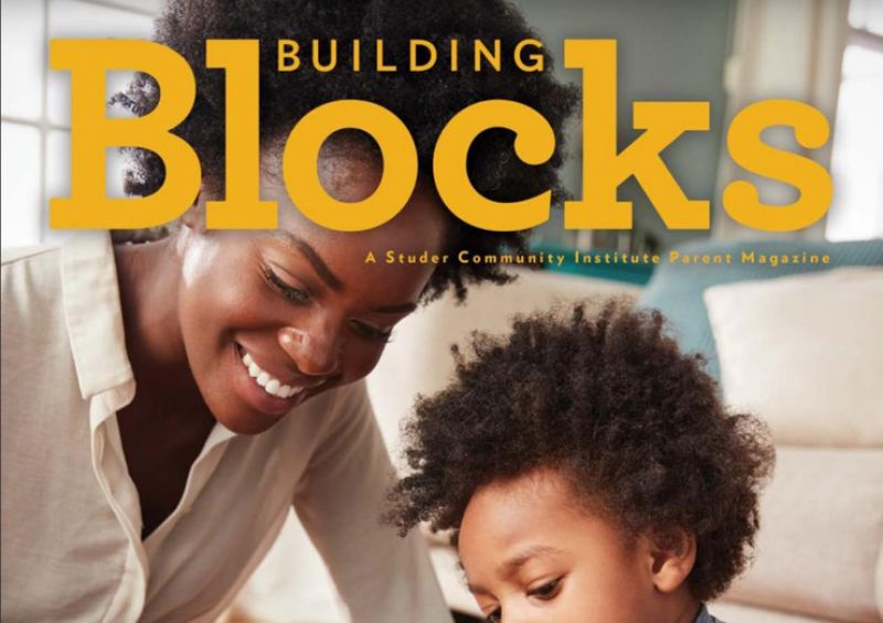 Cover of the 2019 Building Blocks magazine