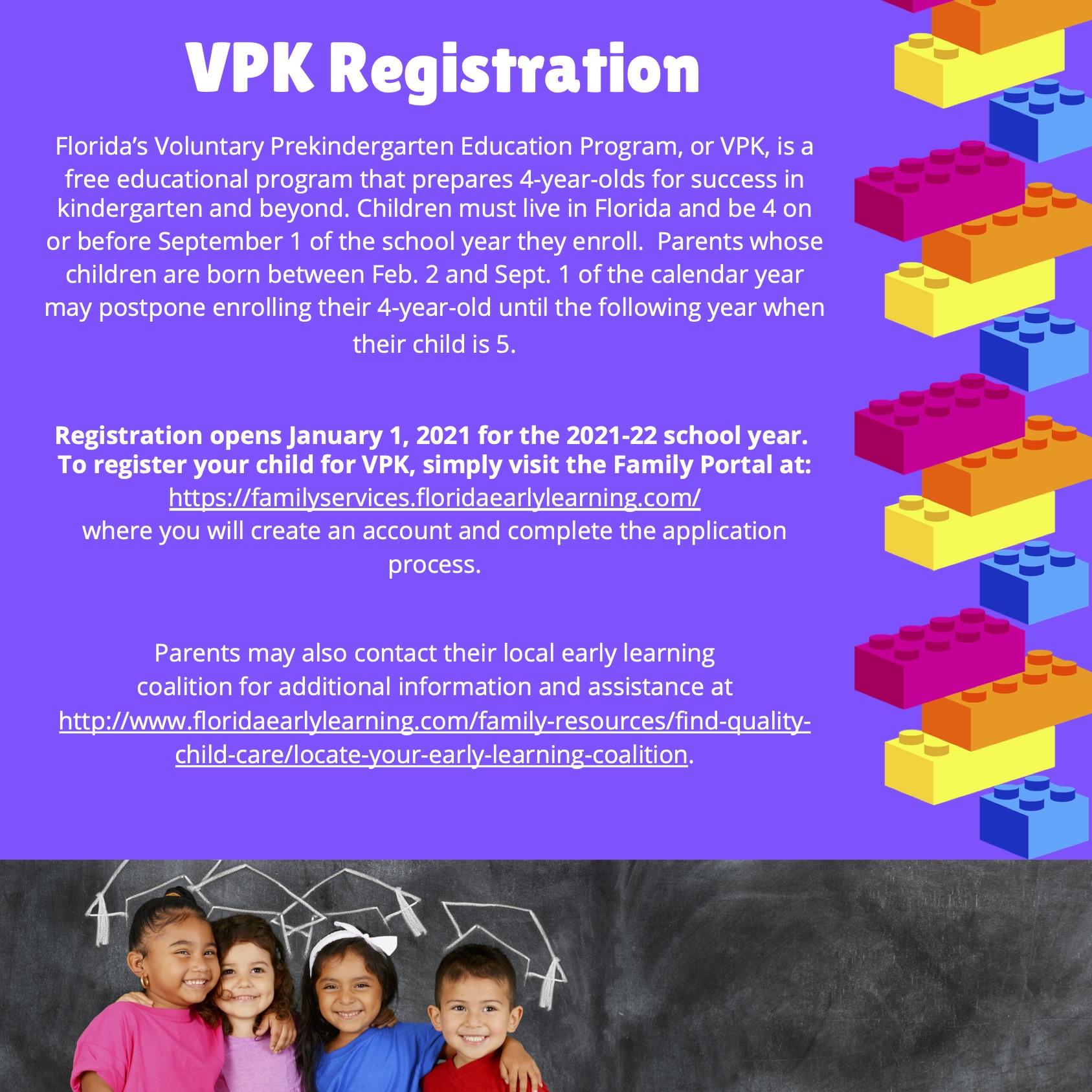 VPK Registration Flyer