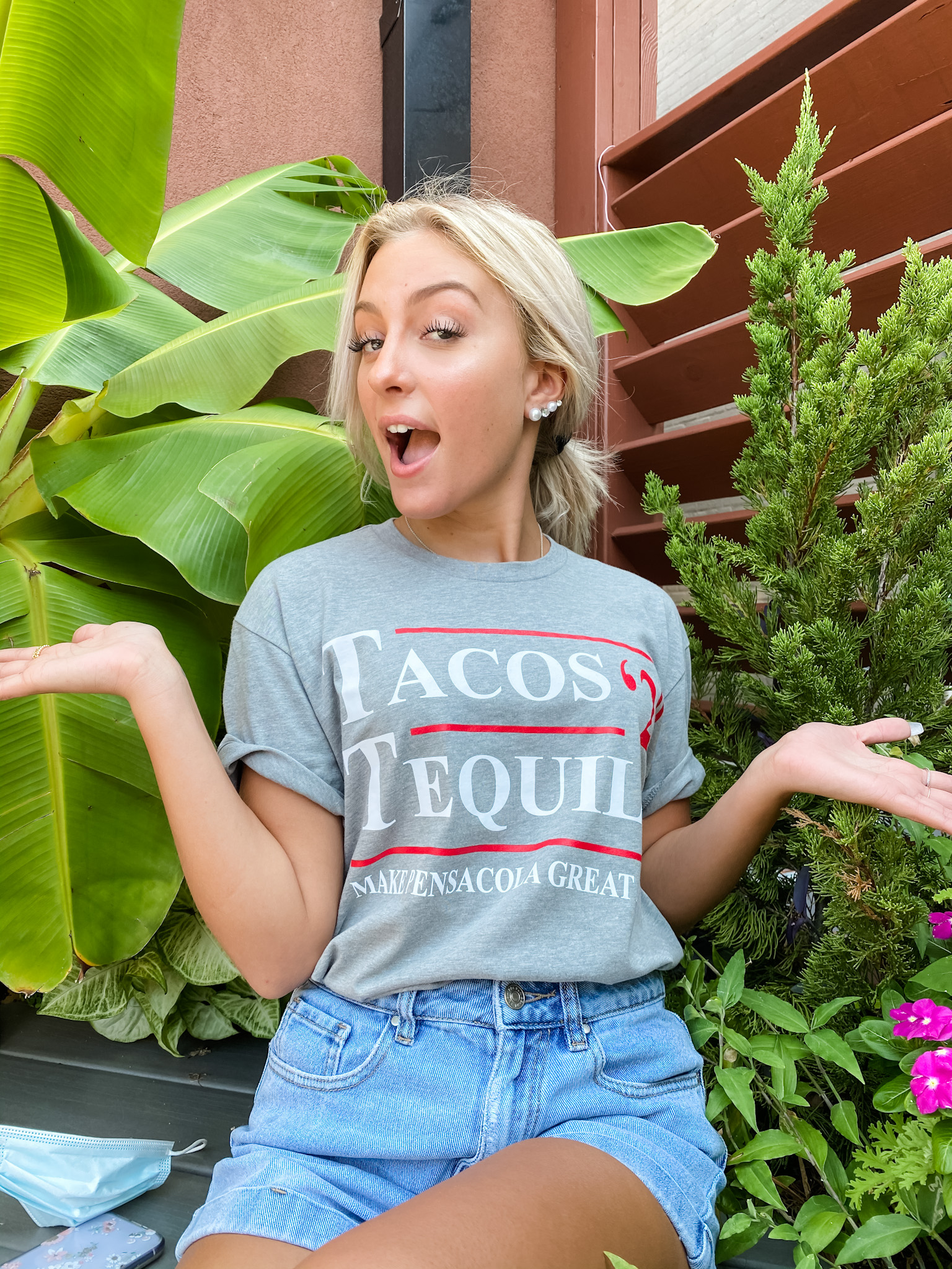 Tacos and Tequila 2020 Shirt - Gray
