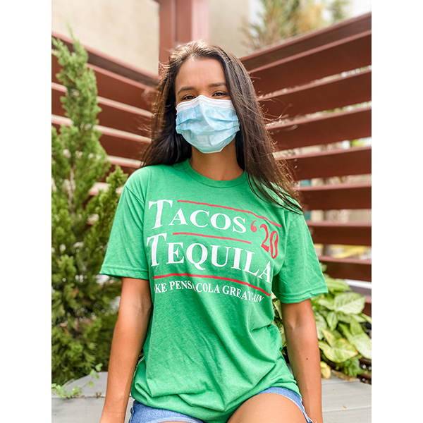 Tacos and Tequila 2020 Shirt - Green