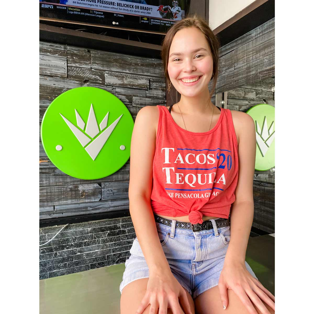 Tacos and Tequila 2020 Tank - Red