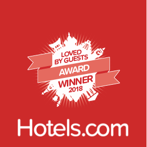 Hotels.com Award Logo