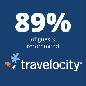 Travelocity Recommendation Logo