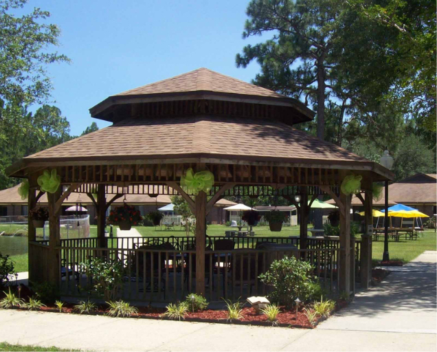 Gazebo at Pensacola Care