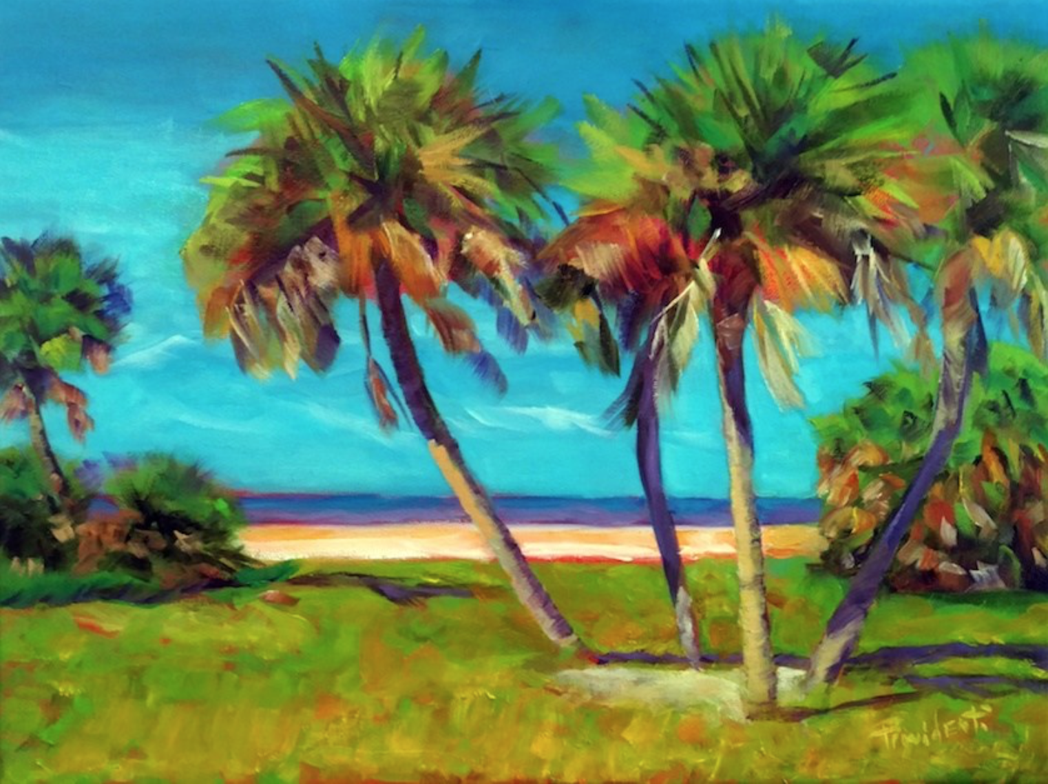 Meet this Gulfport man who says the painting changed his life