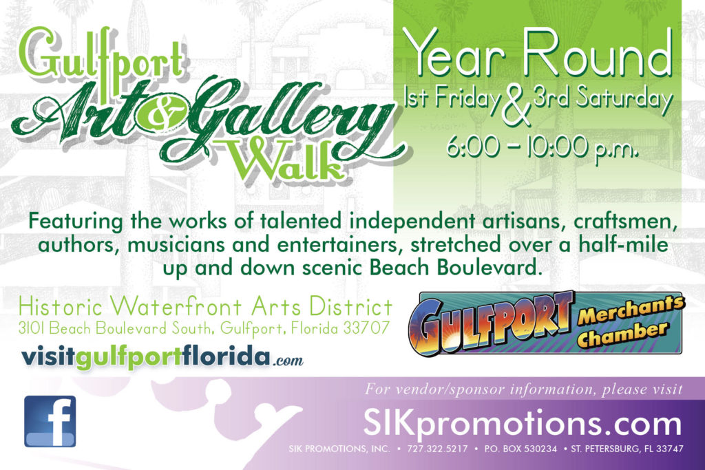 What Do You Need to Know About the Gulfport Art Walk?