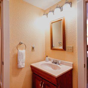 The Bombay Guestroom Bathroom View