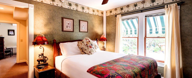 The Casablanca Suite Bedroom View
