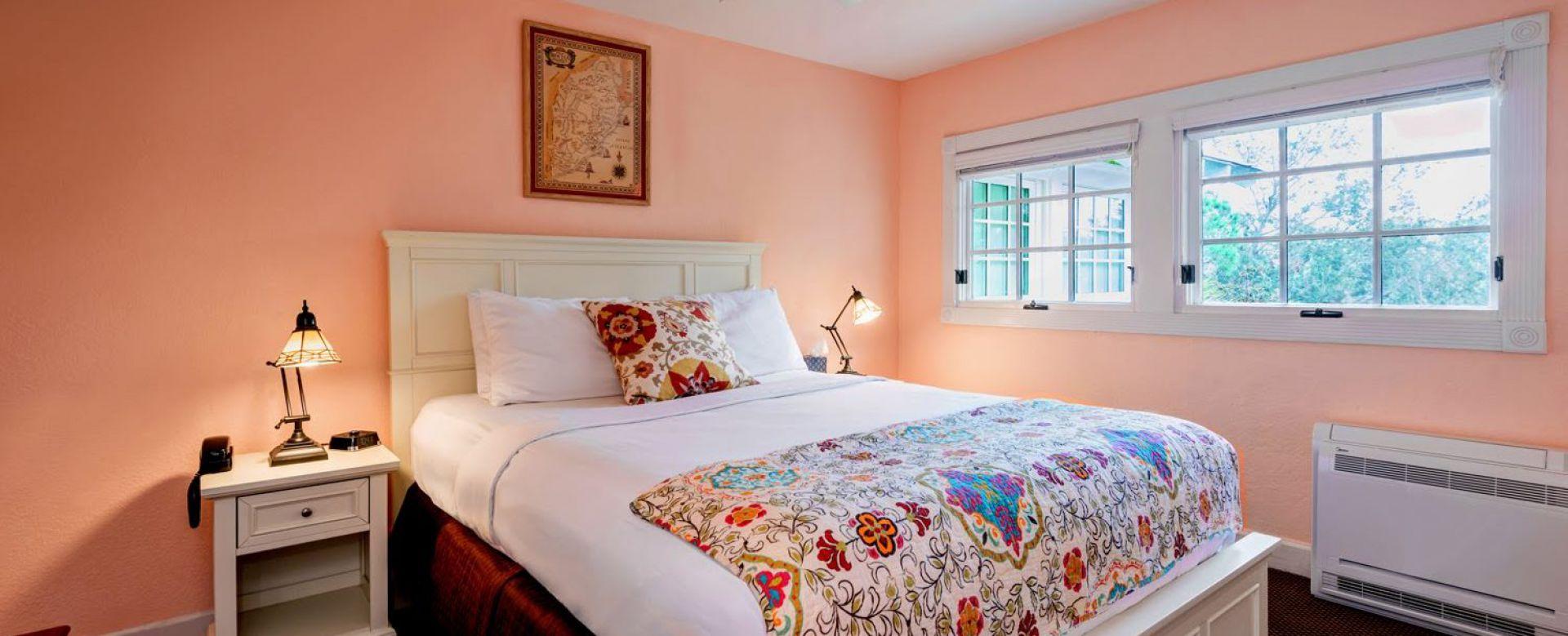 The Burma Suite Bedroom View
