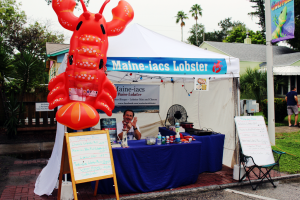 festival food lobster vendor