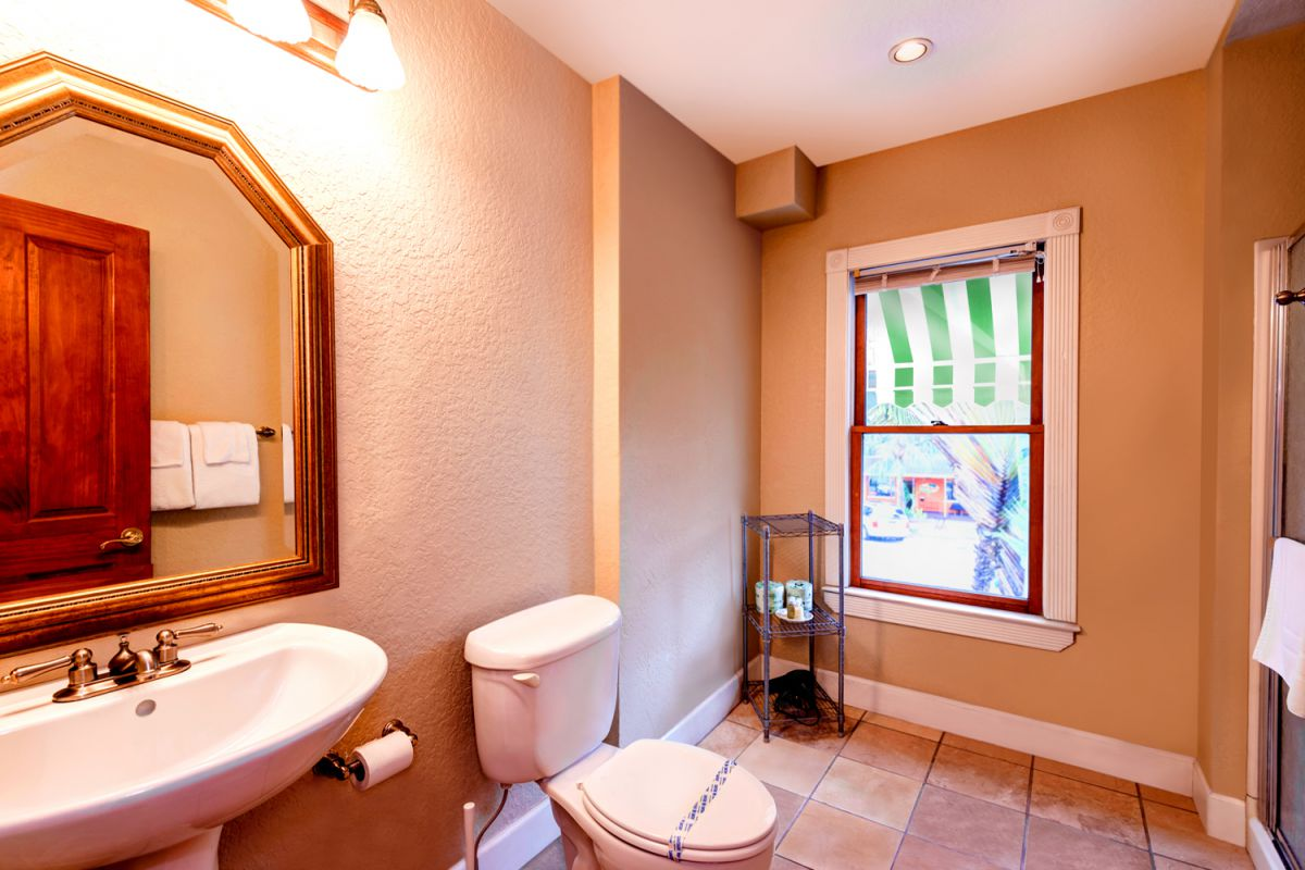 The Prince Suite Bathroom View