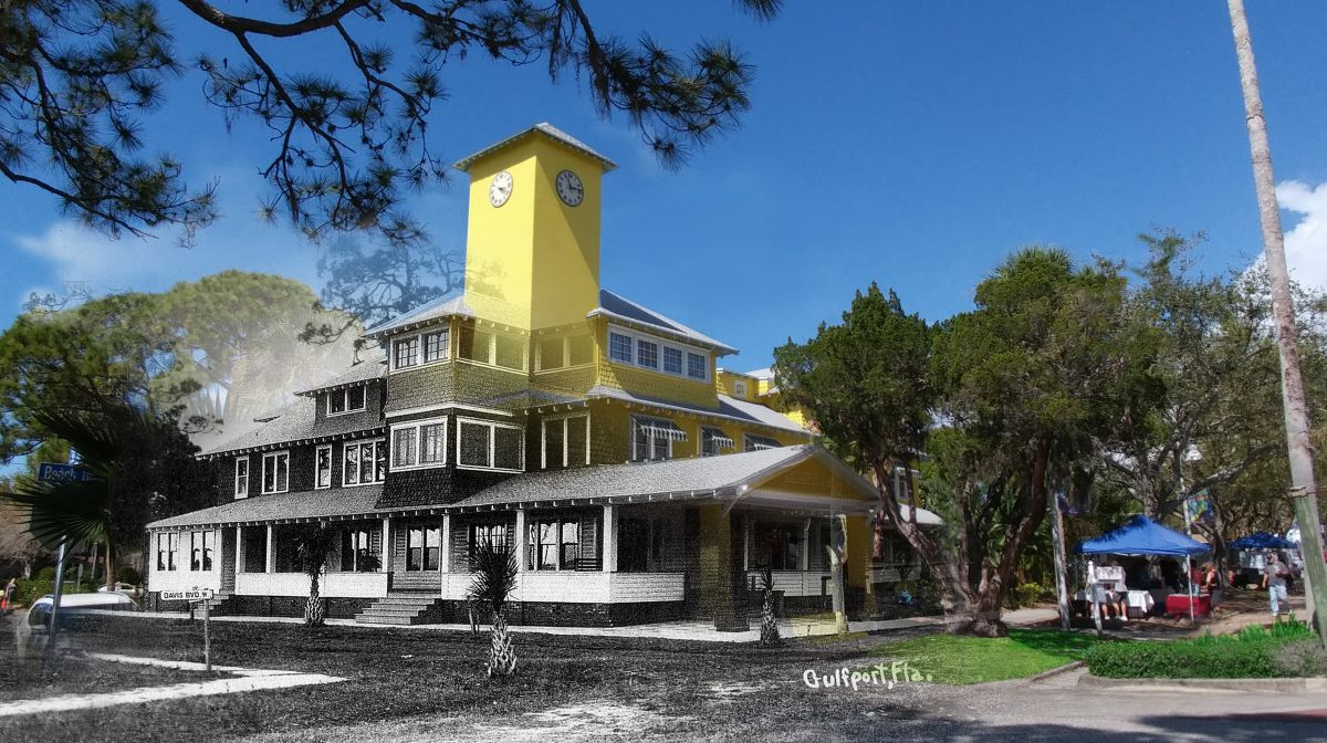 Historic Peninsula Inn - Then and Now