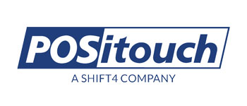 POSitouch a SHIFT4 company logo