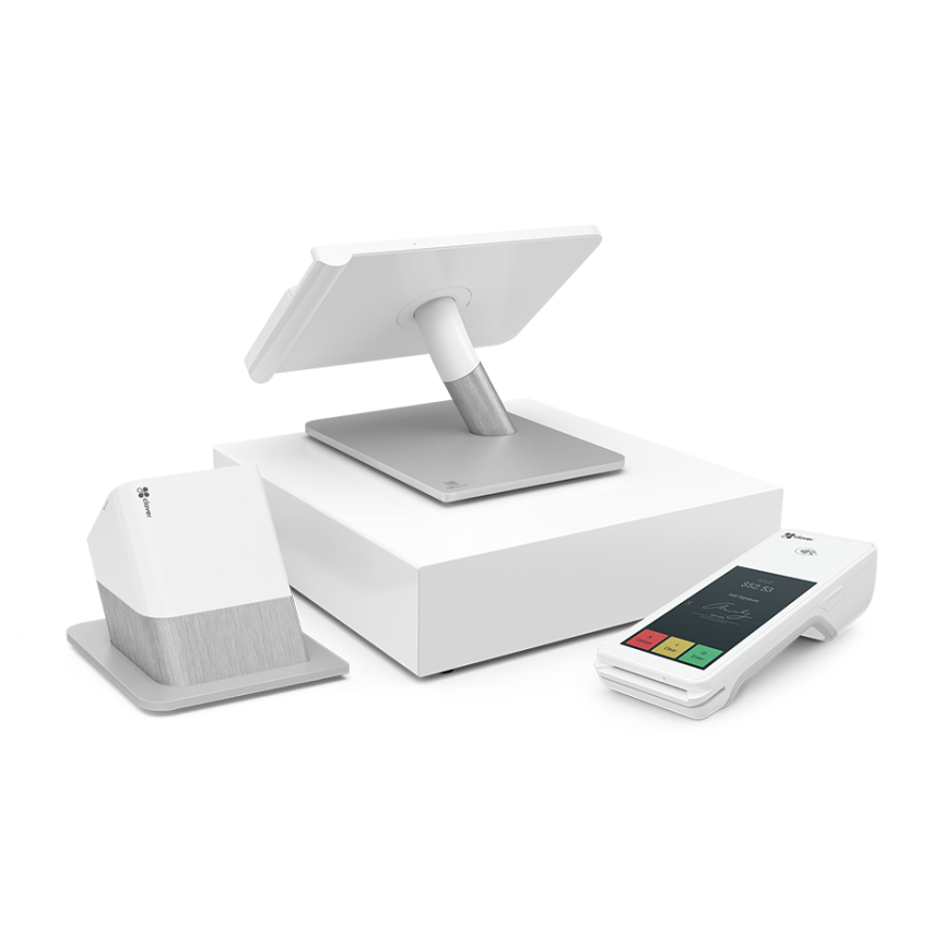 Image of Clover POS, Cash Drawer, Receipt Printer, Clover Flex