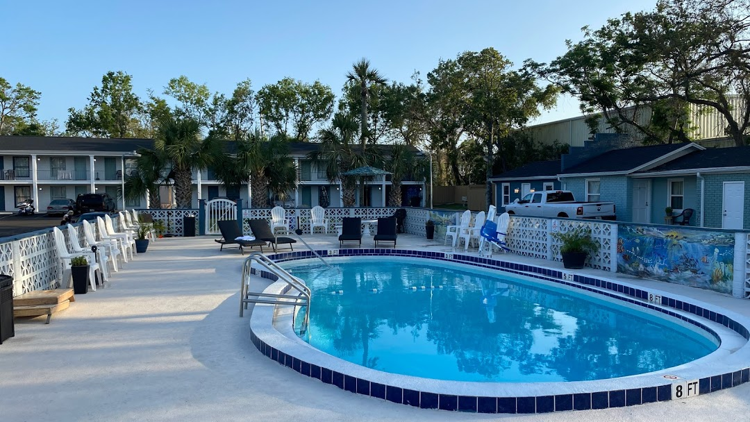 At Home Inn Pensacola Florida Aerial Property View