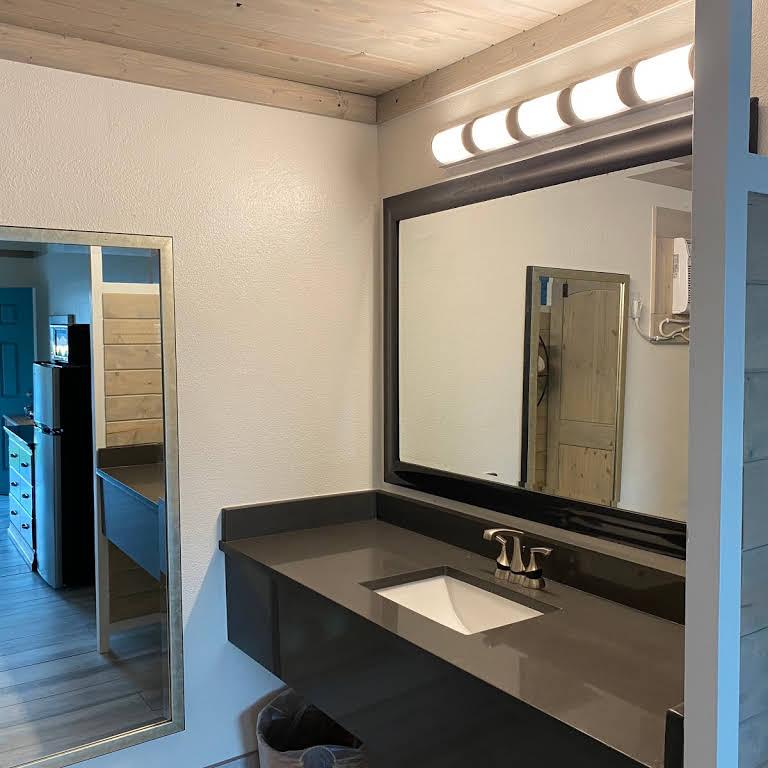 Gulf Coast Inn Vanity Mirror