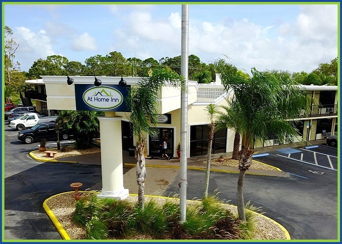 At Home Inn Fort Pierce Florida Front Property View