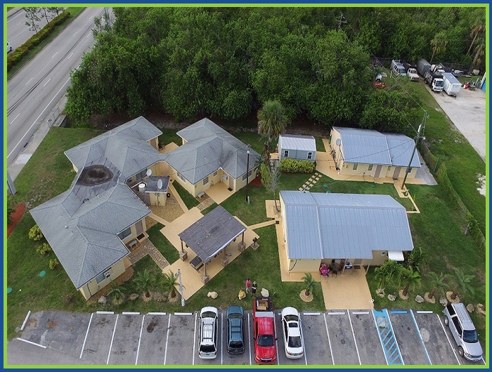 Rainbow Rentals Fort Pierce Florida Aerial Property View