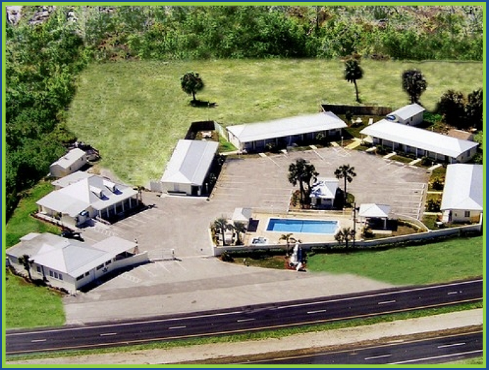 The Fountains Hotel Fort Pierce Florida Aerial Property View