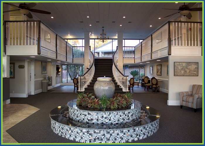 At Home Inn Pensacola Florida Lobby View