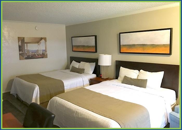 At Home Inn Pensacola Florida Queen Room View