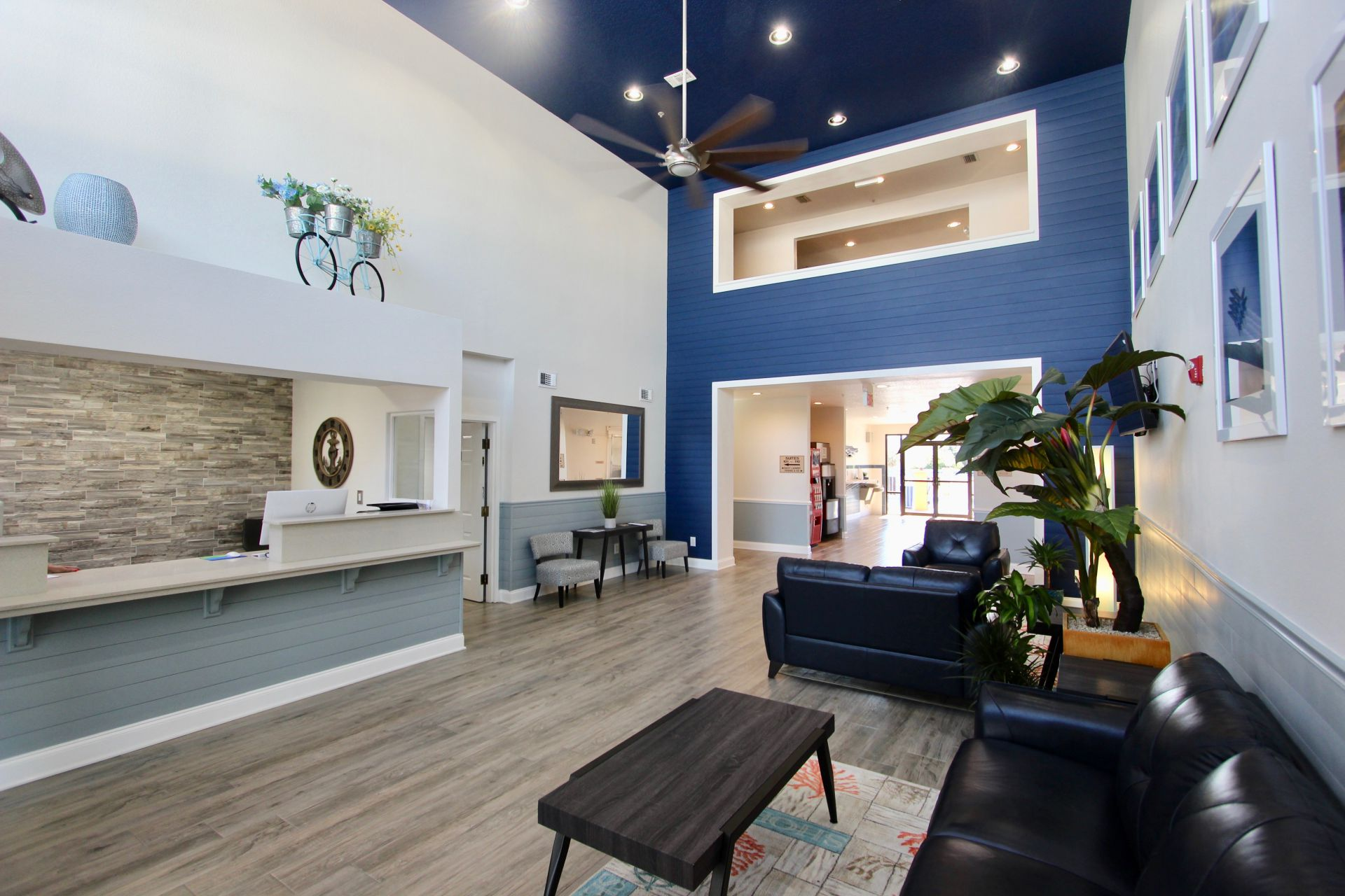Luxury Suites Lobby