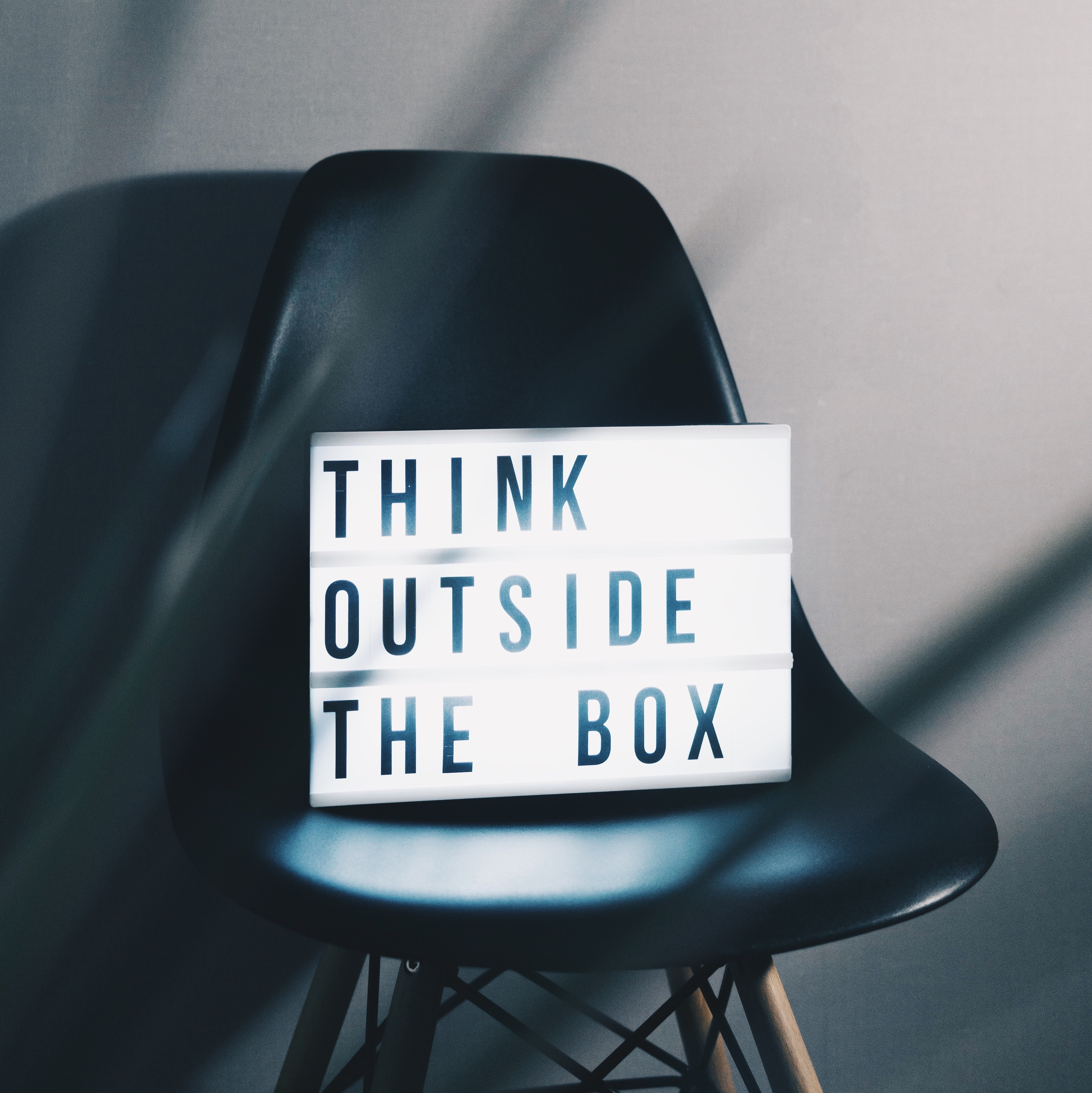 Think outside the box image